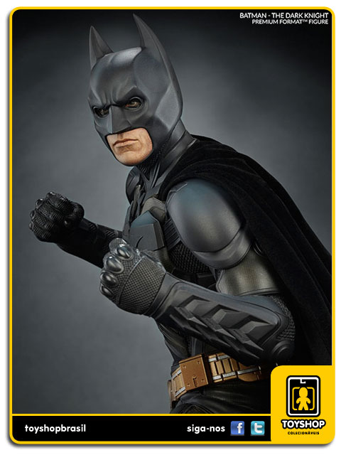 Dc Comics: Estátua Batman The Dark Knight Premium Format - Sideshow Collectibles