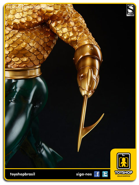 DC Comics: Aquaman Premium Format Exclusiva - Sideshow Collectibles