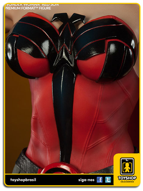 DC Comics: Wonder Woman Red Son Premium Format - Sideshow Collectibles