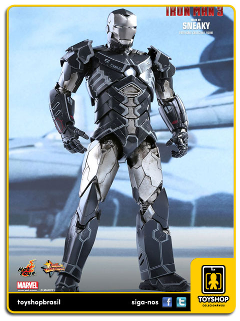 Iron Man 3: Iron Man Mark XV Sneaky - Hot Toys