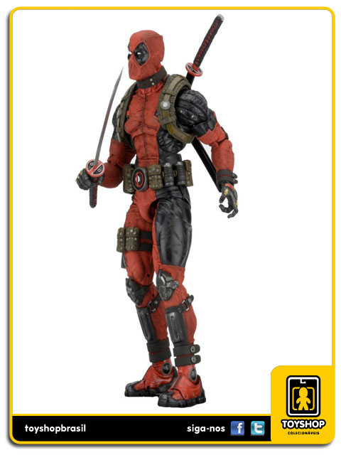 Marvel: Deadpool 1/4 - Neca