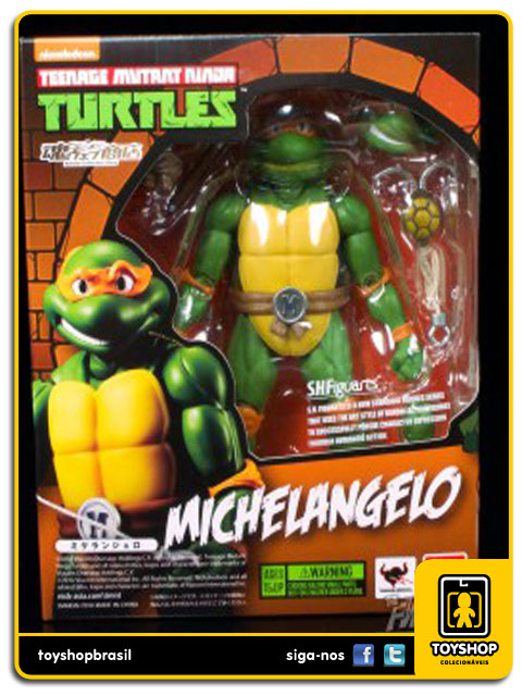 Teenage Mutant Ninja Turtles S.H. Figuarts: Michelangelo - Bandai