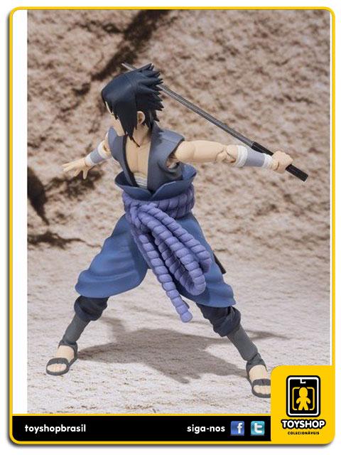 Naruto Shippuden S.H. Figuarts: Uchiha Sasuke vs Itachi - Bandai