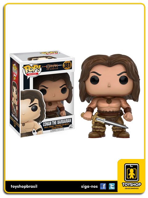 Conan:  Conan The Barbarian Pop - Funko