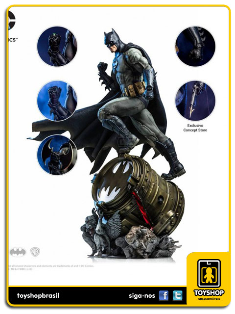 DC Comics: Batman Prime Scale 1/3 By Ivan Reis - Iron Studios