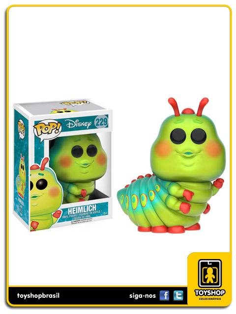 Disney A Bugs Live: Heimlich Pop - Funko