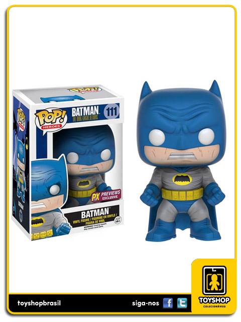 Batman The Dark Knight Returns: Batman Blue PX Exclusive Pop - Funko
