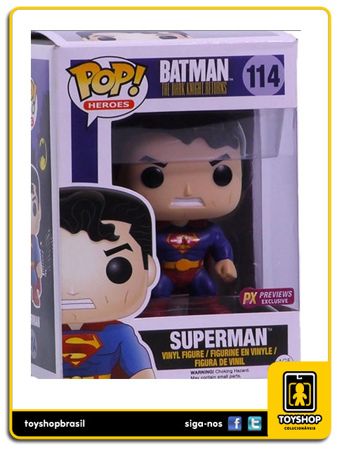 Batman The Dark Knight Returns: Superman PX Exclusive Pop - Funko