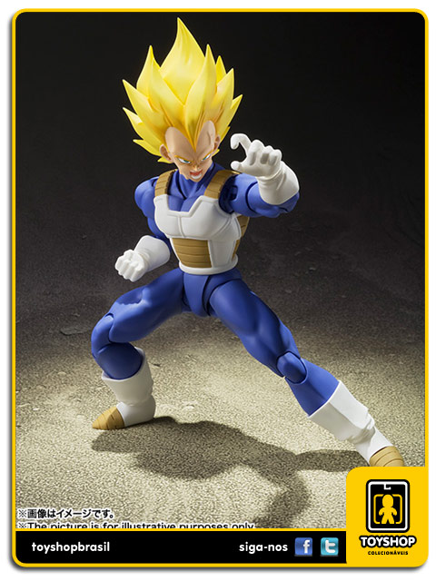 Dragon Ball Z S.H. Figuarts: Super Saiyan Vegeta - Bandai
