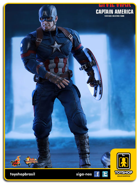 Captain America Civil War: Captain America - Hot Toys