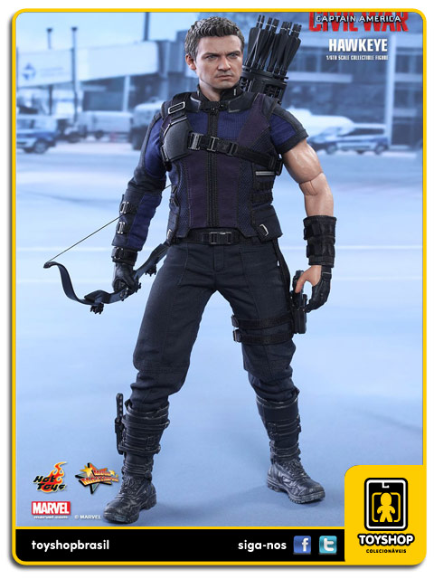 Captain America Civil War: Hawkeye - Hot Toys