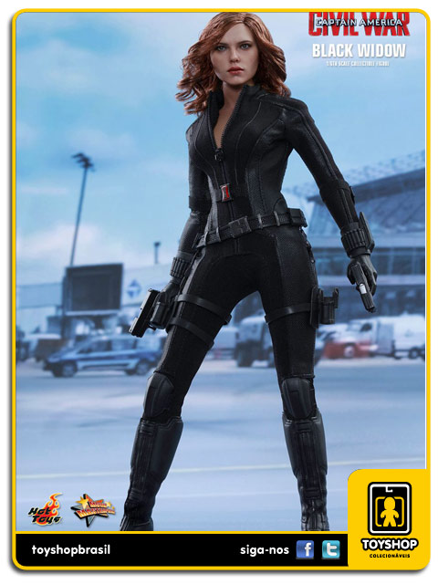 Captain America Civil War: Black Widow - Hot Toys