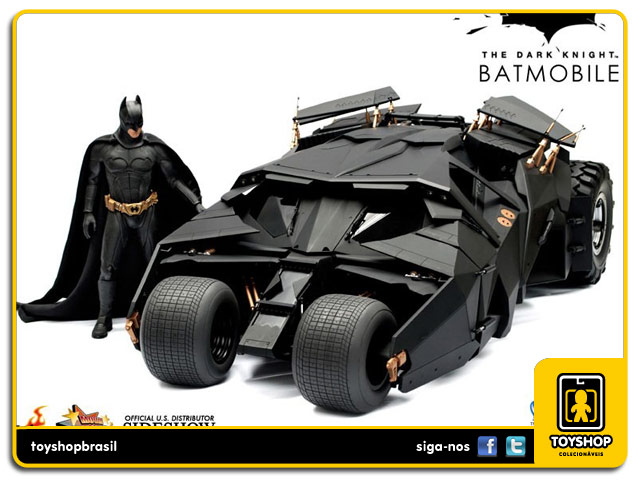 Batman The Dark Knight Rises : Batmobile Tumbler  - Hot Toys