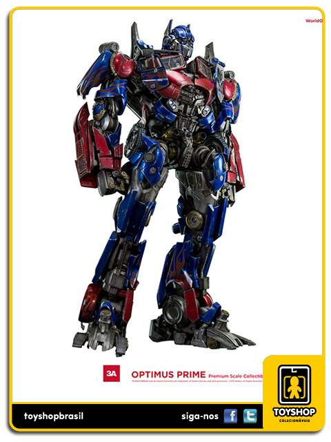 Transformers: Optimus Prime Premium Scale - ThreeA