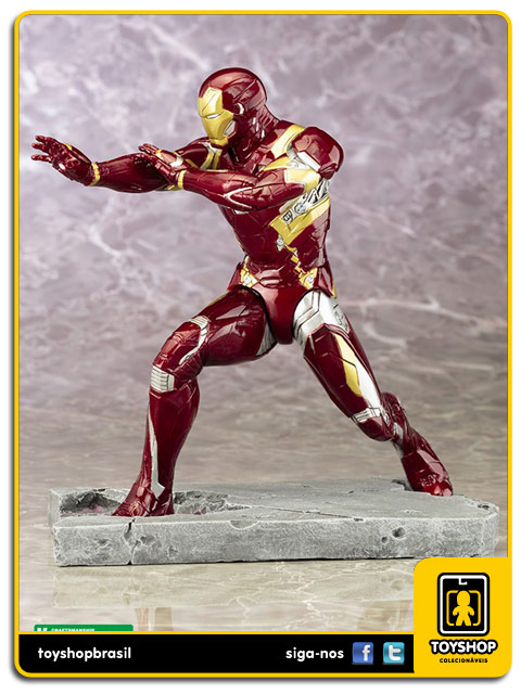 Captain America Civil War: Iron Man Mark XLVI 1/10 Artfx - Kotobukiya