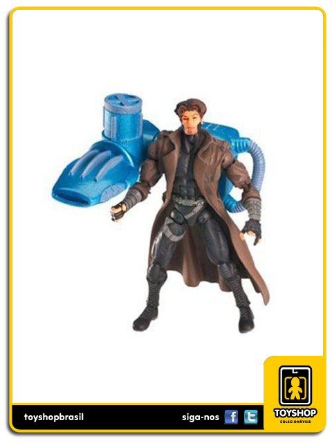 Marvel X-Men: Gambit with disk shooter - Toy Biz