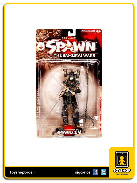Spawn 19 The Samurai Wars: Lotus Angel Warrior - Mcfarlane