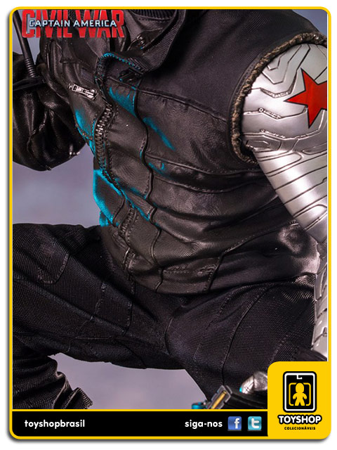 Captain America Civil War: Winter Soldier Legacy 1/4 - Iron Studios