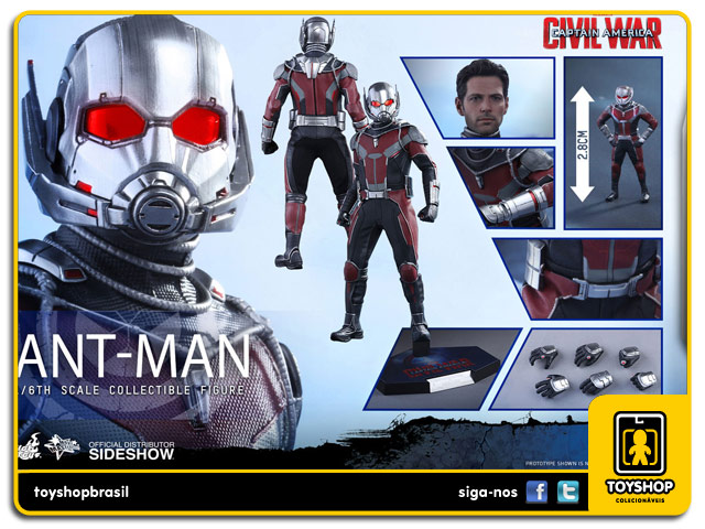 Captain America Civil War: Ant-Man 1/6 - Hot Toys