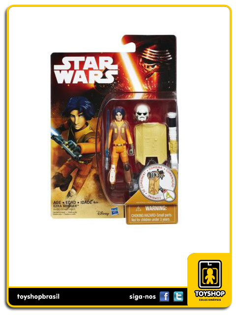 Star Wars Rebels: Ezra Bridger - Hasbro