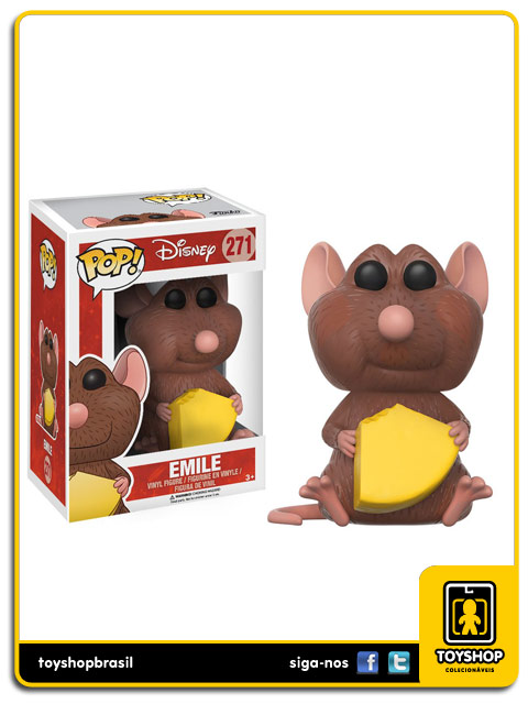 Disney Ratatouille Emile Pop  Funko