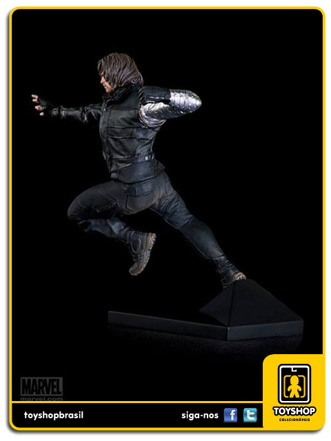 Captain America Civil War Estátua Winter Soldier Art Scale 1/10 - Iron Studios