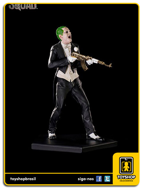 Suicide Squad The Joker 1/10 Art Scale Iron Studios
