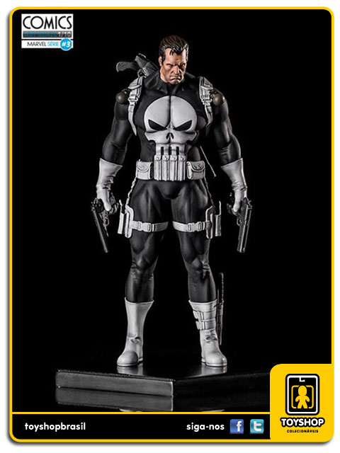 Marvel Comics Série 3 Punisher 1/10 Art Scale Iron Studios