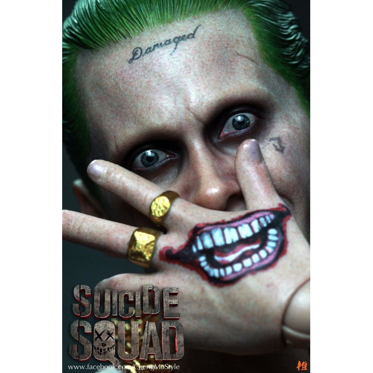 Suicide Squad The Joker Purple Coat Version  1/6 Hot Toys