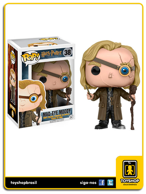 Harry Potter Mad Eye Moody 38 Pop Funko