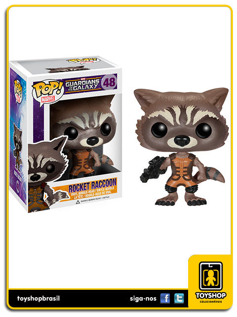 Guardians of the Galaxy Rocket Raccoon Pop Funko