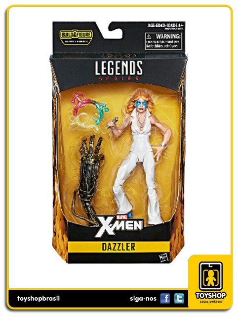 Marvel Legends X-Men Dazzler Warlock Baf Hasbro