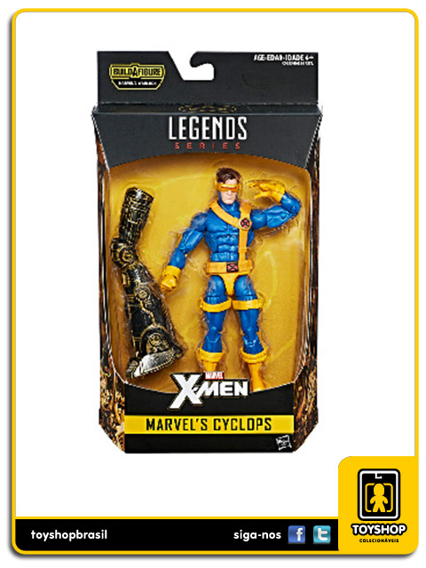 Marvel Legends X-Men Cyclops Warlock Baf Hasbro