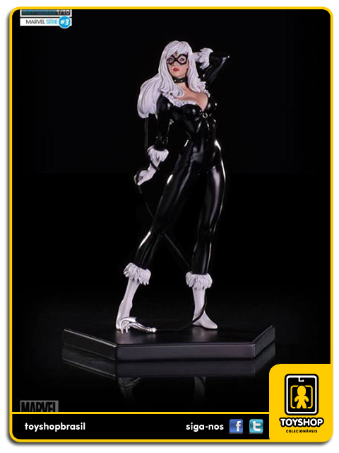Marvel Comics Series 3 Black Cat 1/10 Art Scale Iron Studios