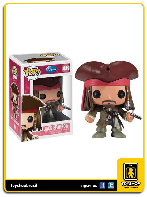 Disney Jack Sparrow Pop  Funko