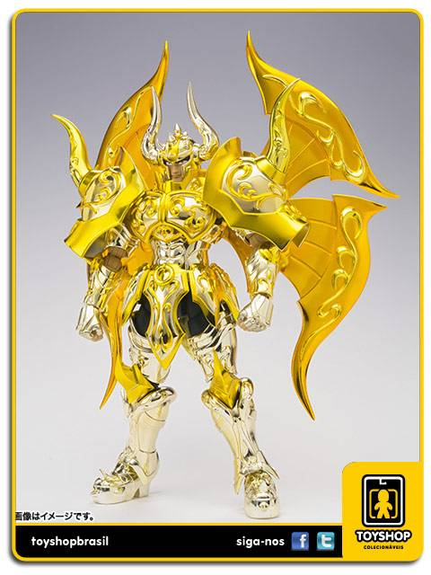 Cavaleiros do Zodíaco Soul of Gold Aldebaran de Touro  EX  Cloth Myth