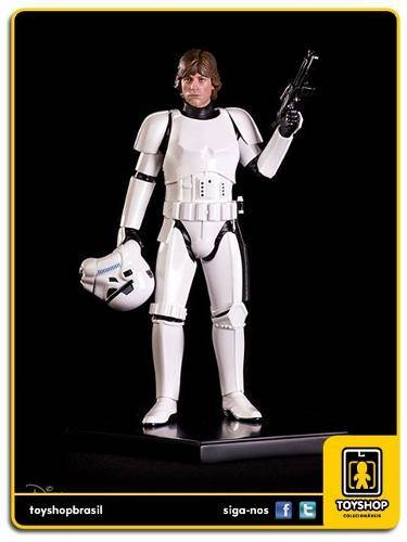 Star Wars Luke Skywalker Disguise Art Scale 1/10 Iron Studios