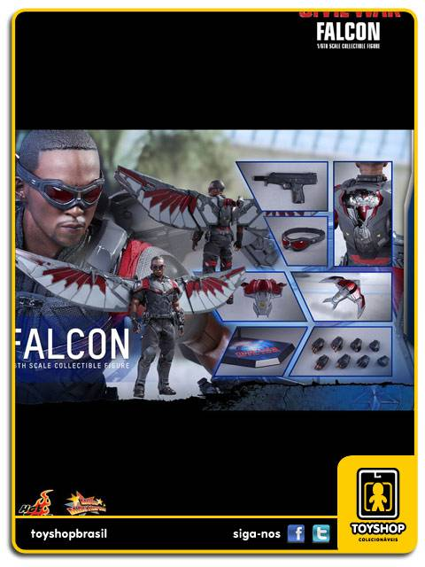 Captain America Civil War  Falcon   Hot Toys