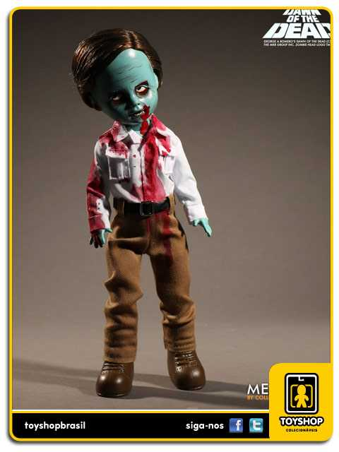 Living Dead Dolls Presents Dawn of the Dead Flyboy Zombie  Mezco