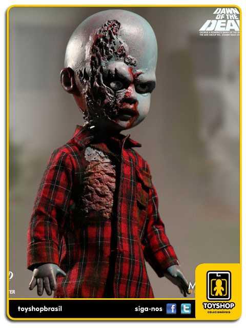 Living Dead Dolls Presents Dawn of the Dead Plaid Shirt Zombie  Mezco