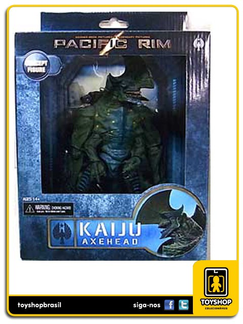 Pacific Rim Kaiju Axehead Neca