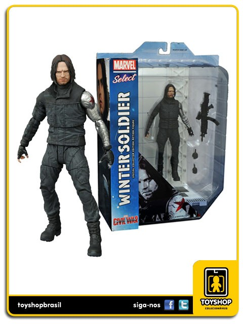 Marvel Select Captain America Civil War Winter Soldier  Diamond