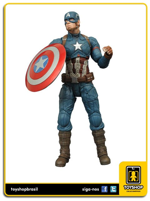 Marvel Select Captain America Civil War Captain America   Diamond