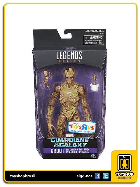 Marvel Legends Guardians of the Galaxy Groot  Exclusivo Hasbro