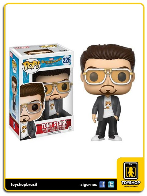 Marvel Spider Man Homecoming  Tony Stark 226  Pop Funko