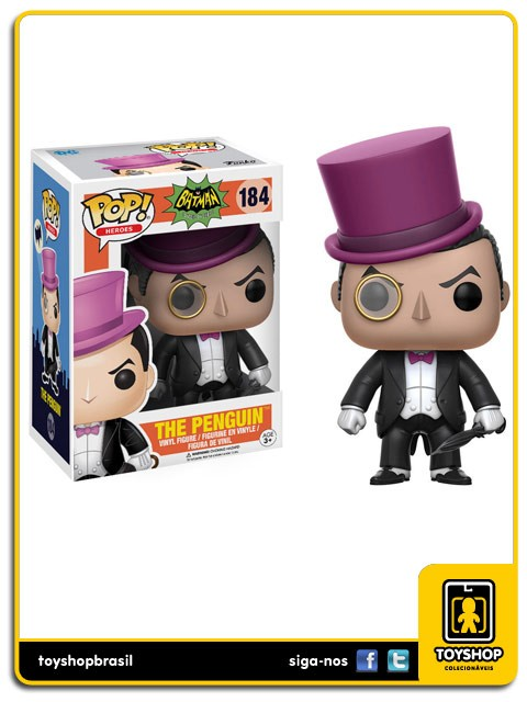 Batman Classic TV Series The Penguin 184 Pop  Funko