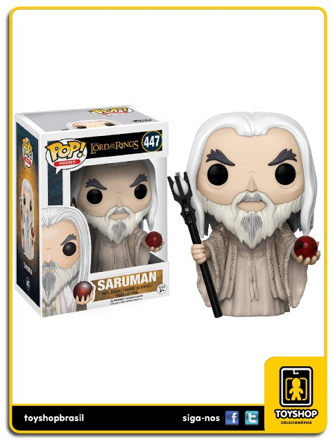The Lord of the Rings Saruman  447 Pop Funko