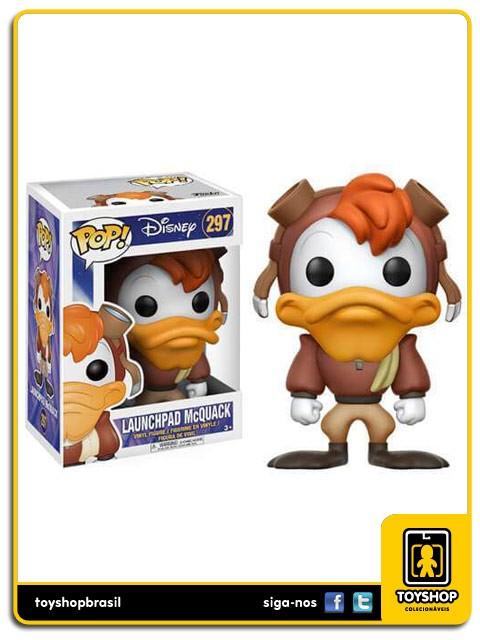Disney Darkwing Duck Launchpad McQuack 297  Pop Funko