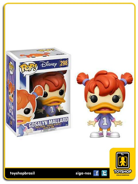 Disney Darkwing Duck Gosalyn Mallard 298  Pop Funko