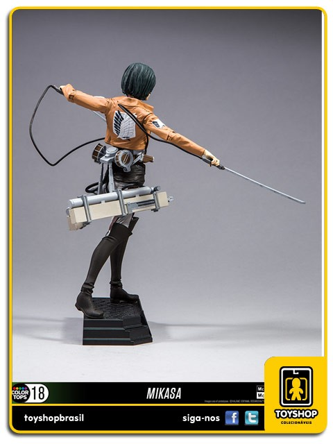 Attack On Titan Mikasa Ackerman Color Tops Mcfarlane Toys